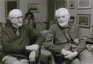 Italo et Vincent en 1984