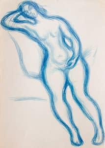 C Reymond : Naïade bleue
