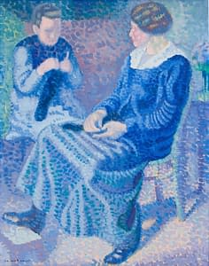 C Reymond : Les tricoteuses