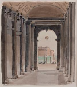 Italo : Sous les arcades de la bibliothèque