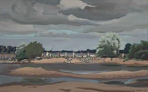 Italo : Pêcheur au bord de la Loire