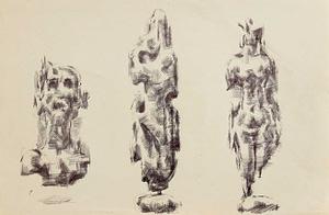 C Reymond : Trois esquisses
