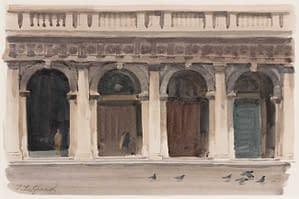 Italo : Arcades de la bibliothèque