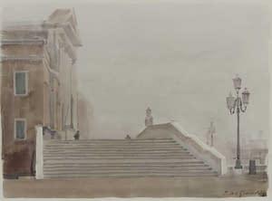 Italo : Escaliers aux Shiavoni