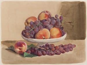 Italo : Pêches et raisins