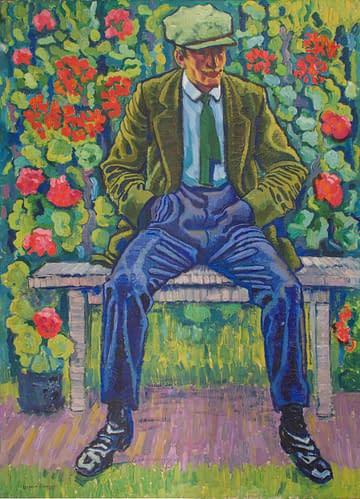 C Reymond : L'homme au pantalon bleu HD