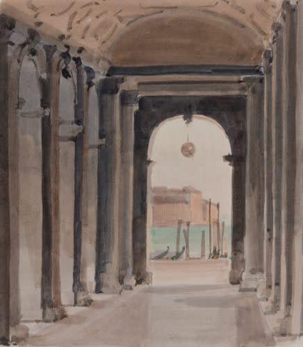 Italo : Sous les arcades de la Biblioteca
