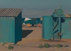Italo : Cabines de plage