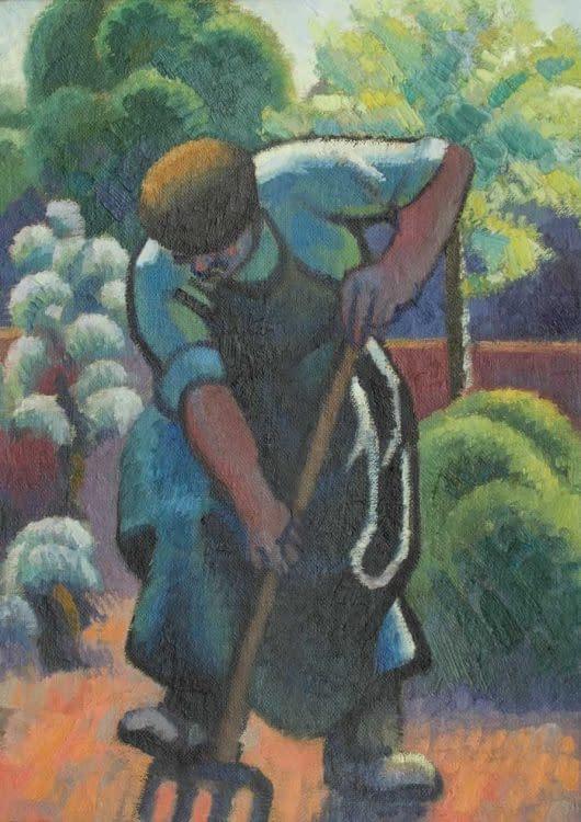 C Reymond : Le jardinier de Bellefontaine