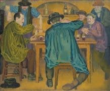 C Reymond : Les joueurs de cartes